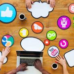 social media for events